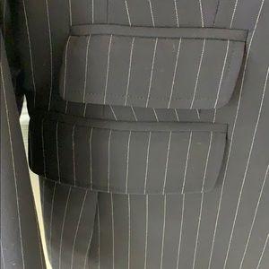 """346"" Brooks Brothers Navy Pinstripe Blazer"